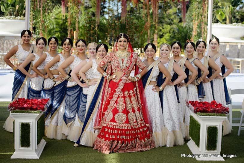 Indian Bride with Bridesmaid Capture