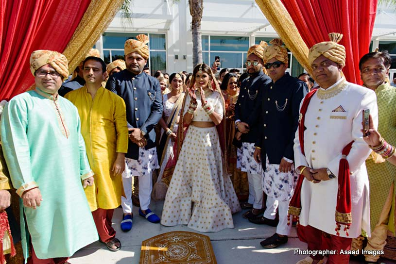 Indian Bride ready to welcome Indian Bride