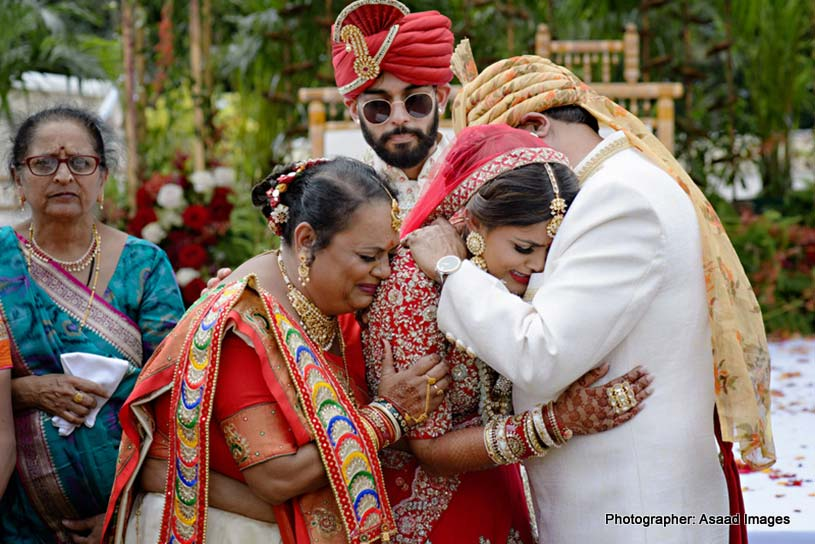 Vidai - Indian Wedding Ritual