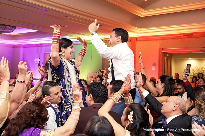 Indian Bride and groom First Dance capture