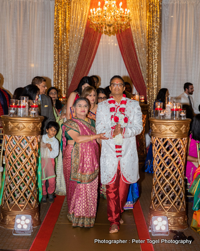 Great Entrance of Indian Groom for wedding