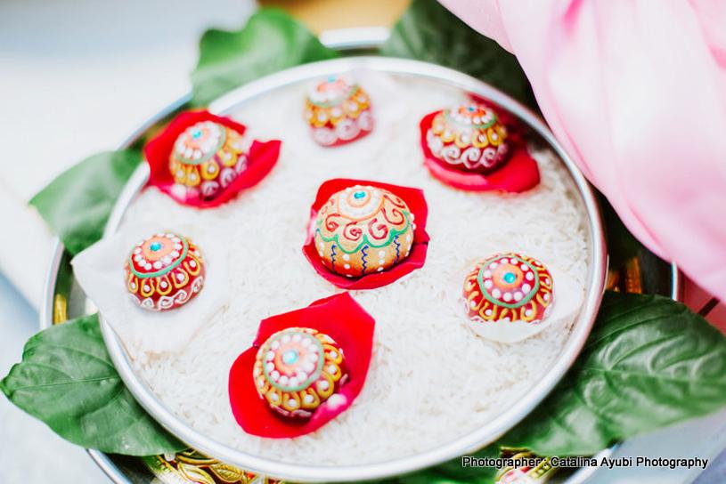 Supari decoration for Indian wedding ceremony