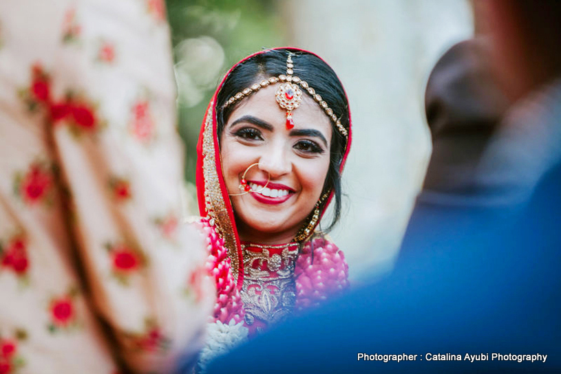 Stunning Bride Looking Amazing