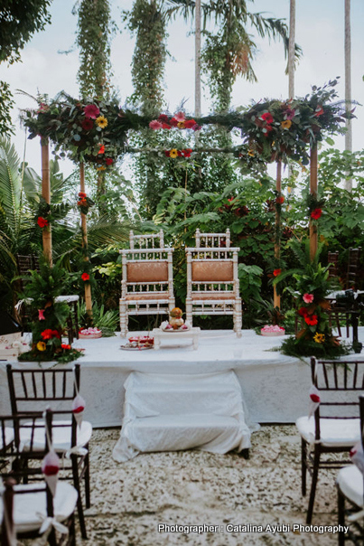 Wedding Mandap Decorated By Anand Event Services
