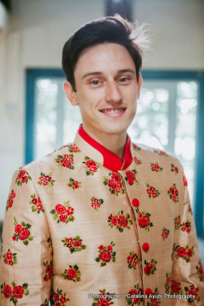 Groom Ready for Indian Wedding