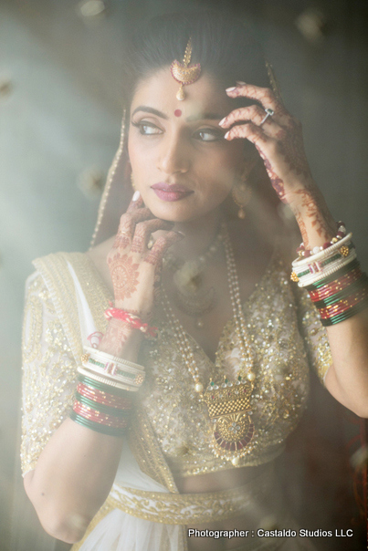 Beautiful Indian bride photo session