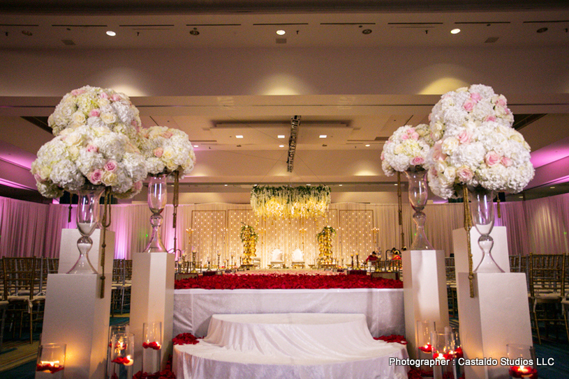 Marvelous Indian Wedding Ceremony Mandap Decor
