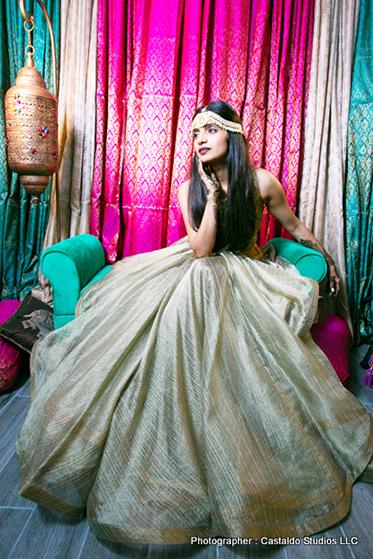 Spectacular Shot of indian Bride