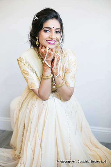 Smily Face of Indian Bride