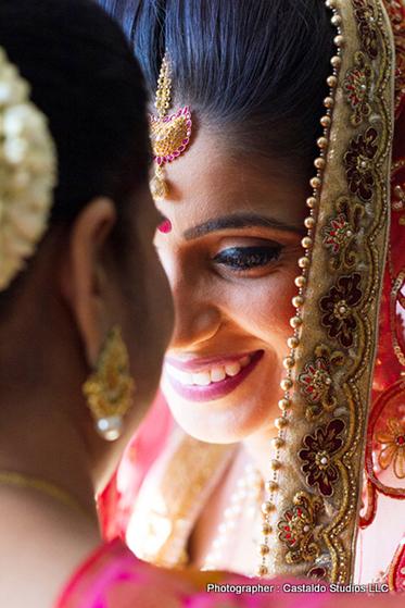 bride looks stunning