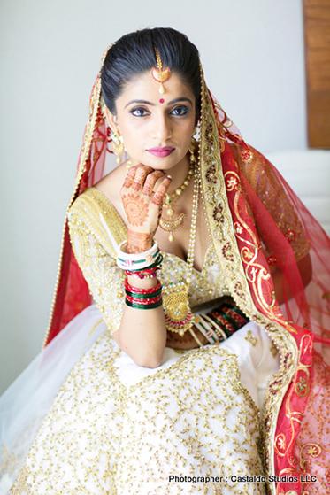 stuning looks of indian bride