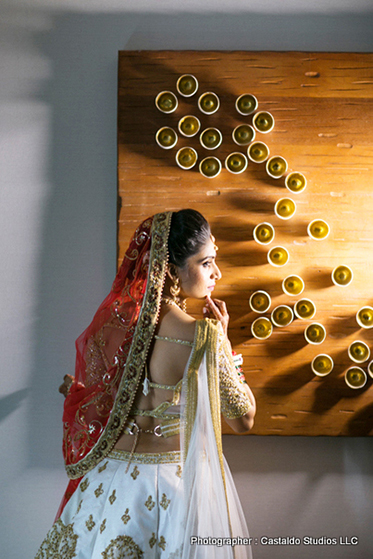 gorgeous look of indian bride