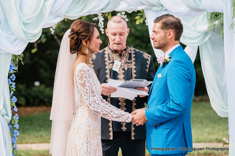 Bride Groom Looking Stunning
