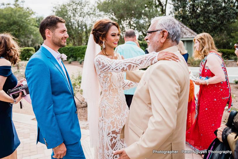 Raj Shah Wishing Indian Bride and Goom