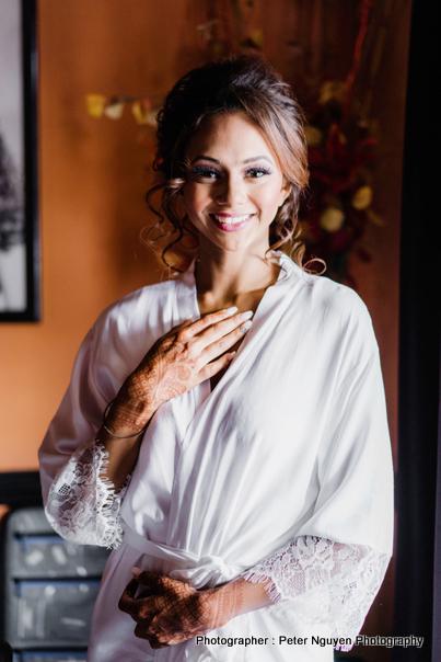 Indian Bride Weddding Clothes Designed by Le Trend Boutique
