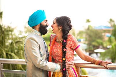 Indian Wedding Mandap Decorated at Hilton Orlando