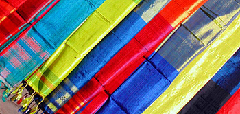 Silk sarees from all over India