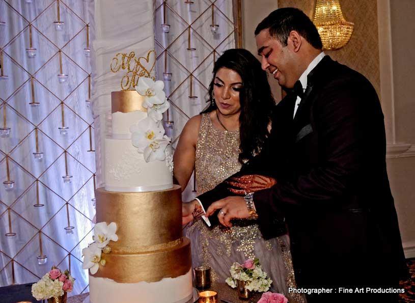 Blissfull Indian Wedding Cake
