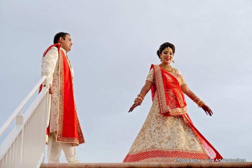 Indian Couple enjoying outdoors