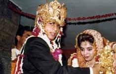 Gauri Khan & Shah Rukh Khan