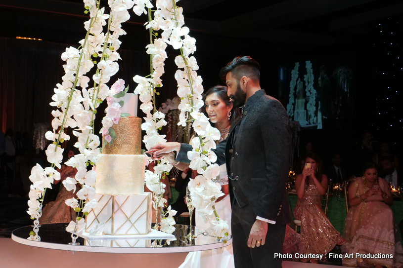 Indian Reception Cake