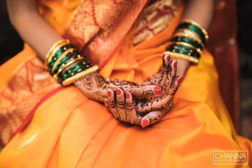 Indian Wedding Mehndi by Farah's Mehendi