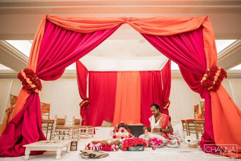Wedding done under Manikanda Ramanatha guidance