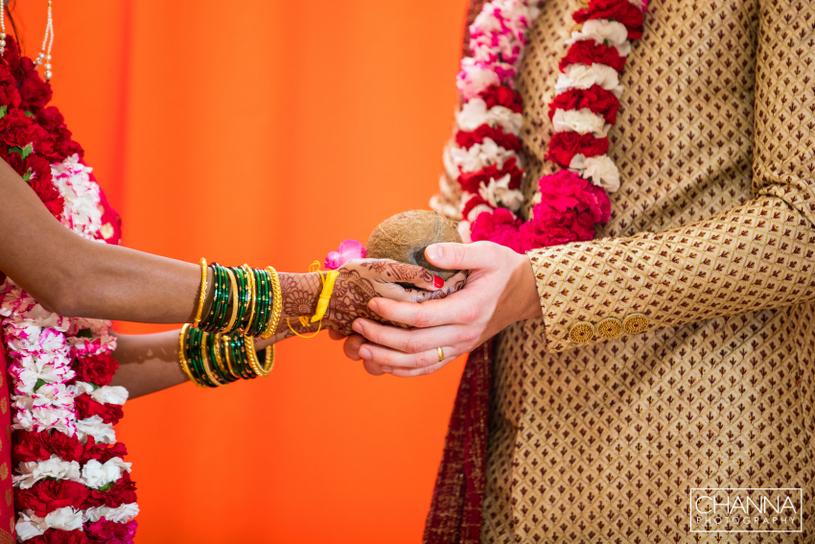 Hasta Melap - Indian Wedding Ritual