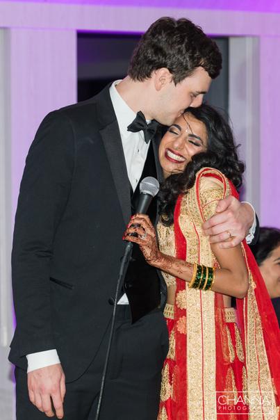 Happy Newly weds couple