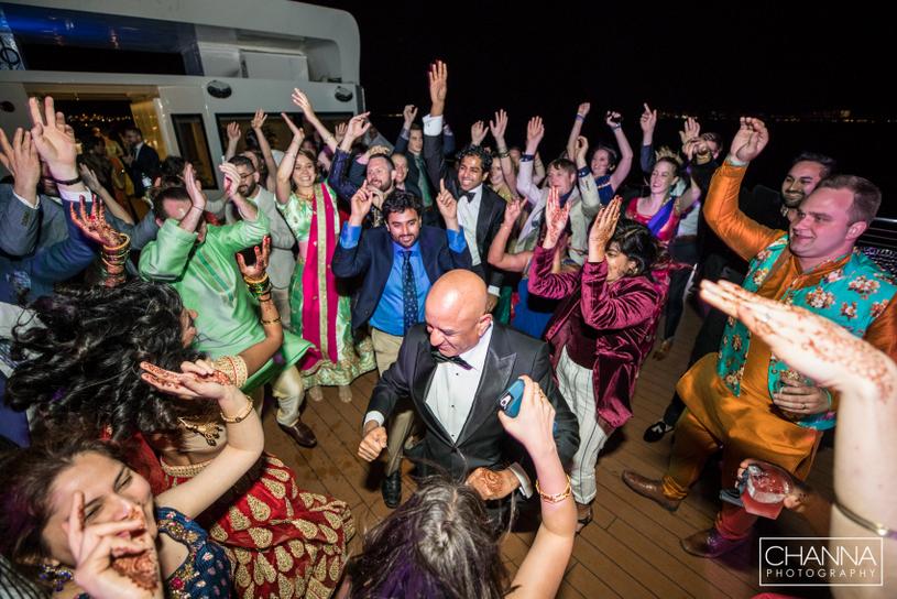 All Indian Wedding Guest Enjoying Dance