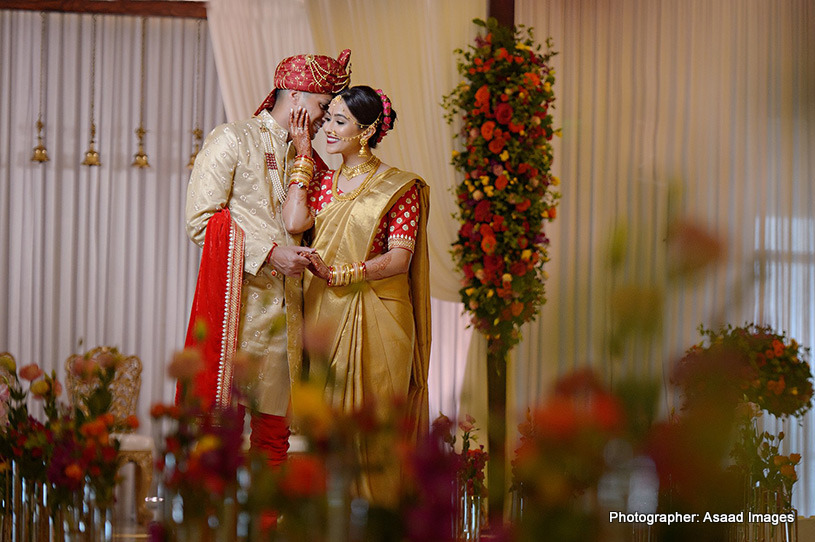 Portrait capture of Indian Couple