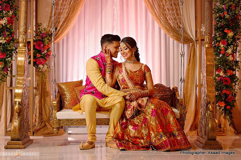 Portrait Click of Indian Couple