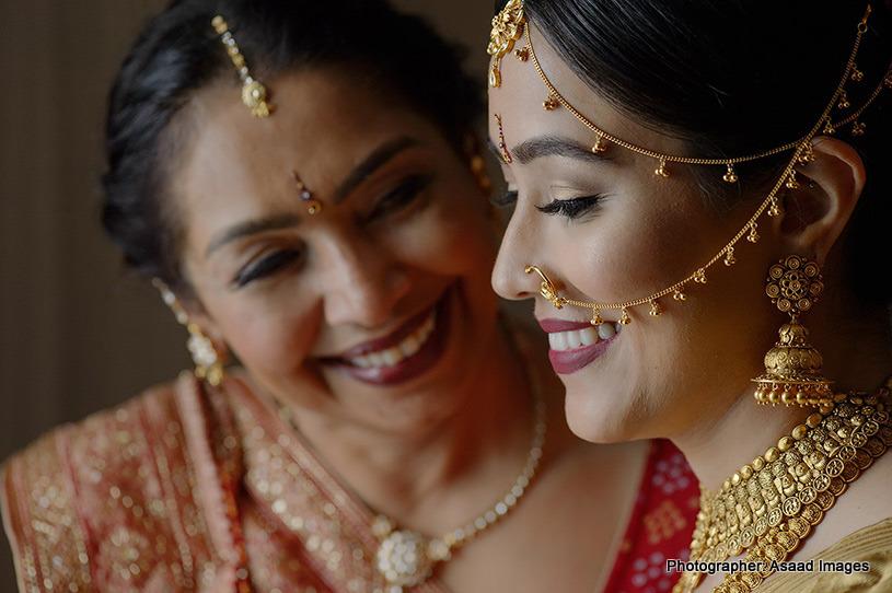 Indian Bride's Portrait look