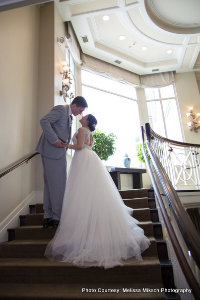 Floor Length wedding gown look gorgeous