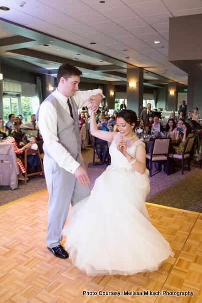 Couple Dance of Newly weds Couple