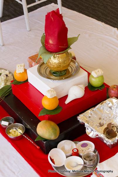 Kalash and Hoy items for wedding