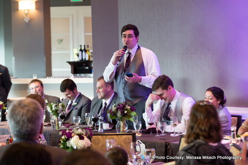 Guest Speach for Newly weds couple