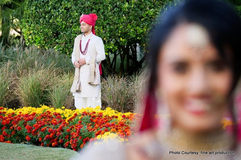 Indian couple photoshoot outdoors