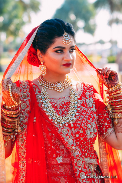 Gorgeous Portrait Capture of Indian Bride