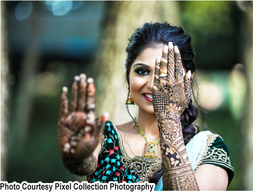 Gorgeous Mehndi capture by Pixel Collection Photography