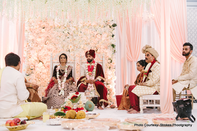 Amazing Indian Wedding Chauri Decor