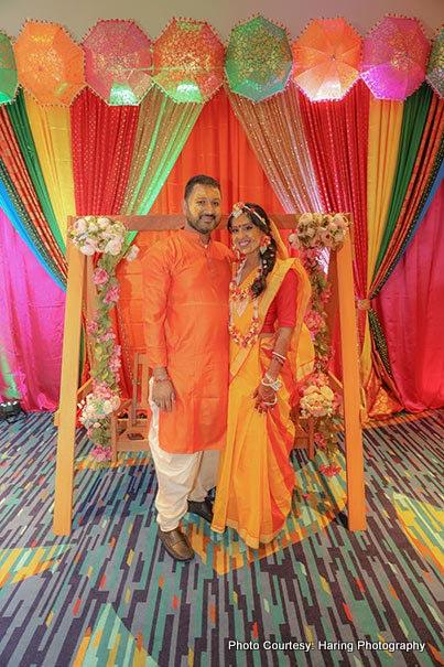 Gorgeous Haldi ceremony picture