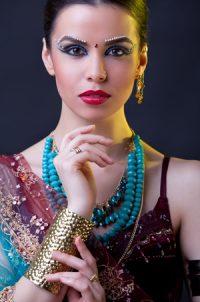 Indian Bride Make-up