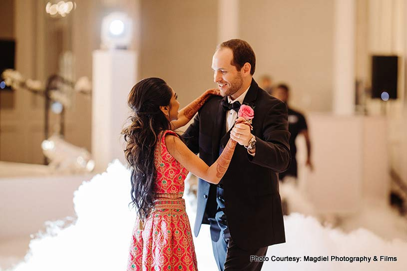 Indian Couple first dance