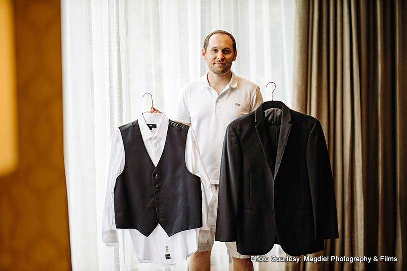 Groom's Wedding outfit