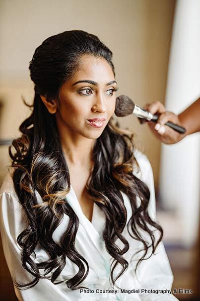 Indian Bride's Make-up