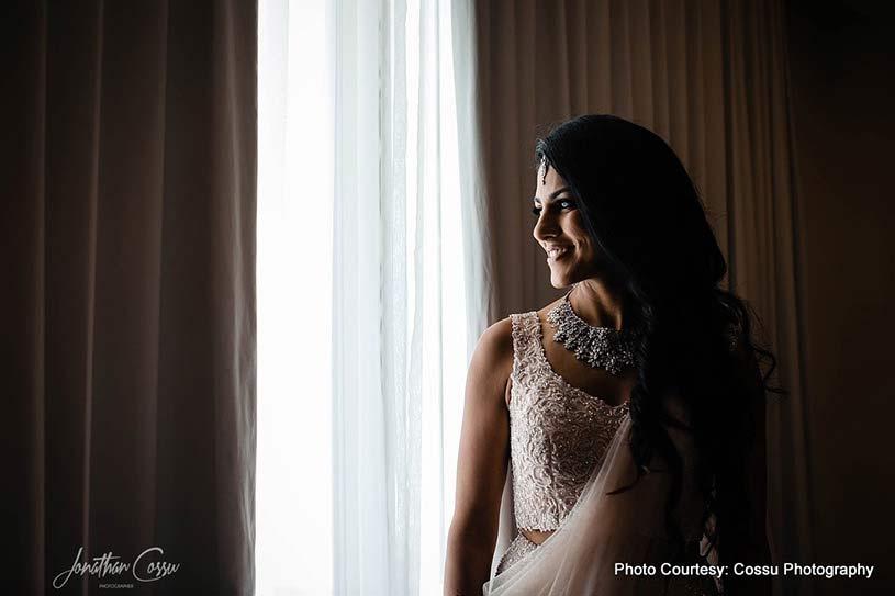 Portrait capture of Indian Bride