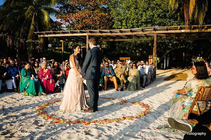 Amazing wedding destination Zama Beach Club