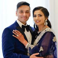The Real Wedding of Meghavi Parekh Regulatory Affairs Professional & Ketul Network Security Engineer