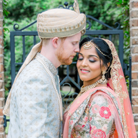 The Real Wedding of Pooja, a dentist and Robert a lawyer